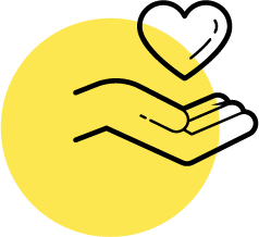 Hand with heart | UX Design