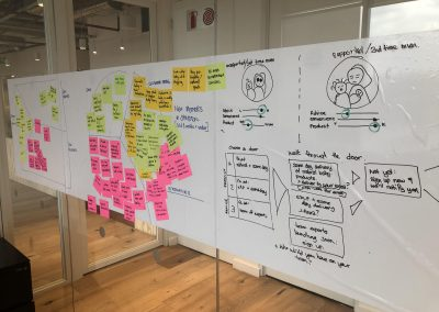 Value proposition testing for a new service targeting a new market